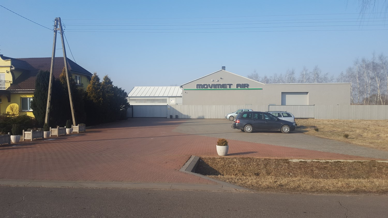 MOVIMET AIR Romuald Moździerz - siedziba