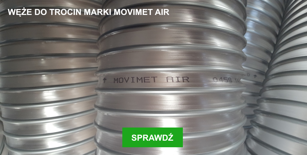 Jakość węży marki MOVIMET AIR